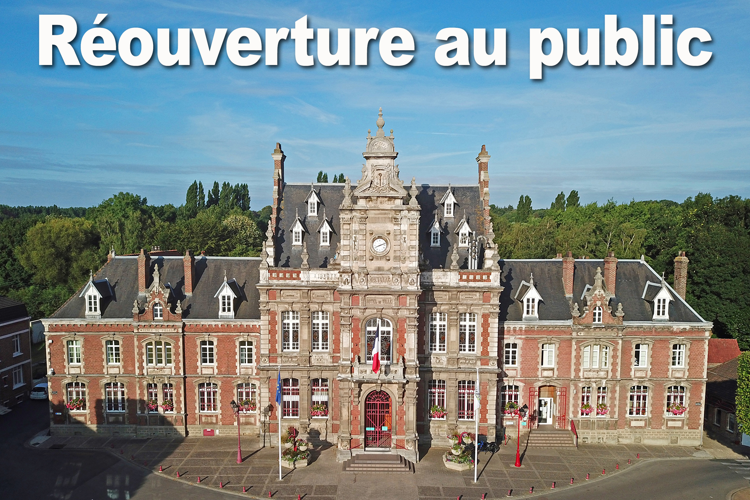 reouverture mairie