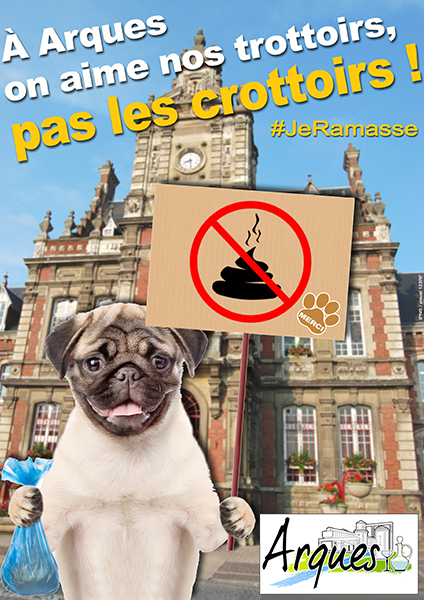 aff chien crottes mairie