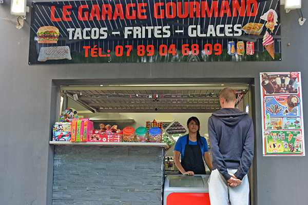 garage gourmand